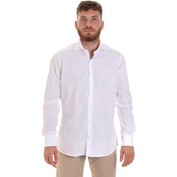Oblečenie Muži Košele s dlhým rukávom Les Copains 000.006 P3196SL Biely