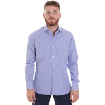Oblečenie Muži Košele s dlhým rukávom Les Copains 20P.621 P3196SL Modrá