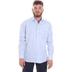 Oblečenie Muži Košele s dlhým rukávom Les Copains 20P.887 P3196SL Modrá