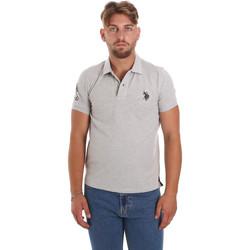 Oblečenie Muži Polokošele s krátkym rukávom U.S Polo Assn. 55985 41029 Šedá