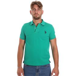 Oblečenie Muži Polokošele s krátkym rukávom U.S Polo Assn. 55985 41029 Zelená