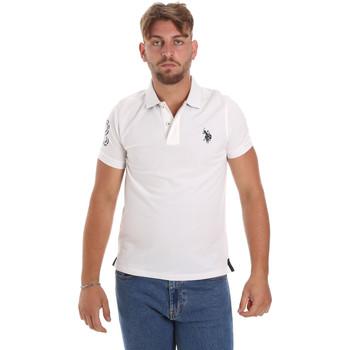 Oblečenie Muži Polokošele s krátkym rukávom U.S Polo Assn. 55985 41029 Biely
