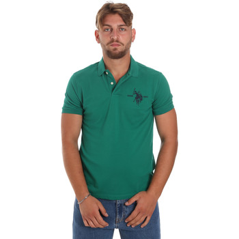 Oblečenie Muži Polokošele s krátkym rukávom U.S Polo Assn. 55959 41029 Zelená