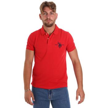 Oblečenie Muži Polokošele s krátkym rukávom U.S Polo Assn. 55959 41029 Červená