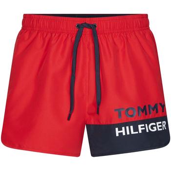 Oblečenie Muži Plavky  Tommy Hilfiger UM0UM01683 Červená