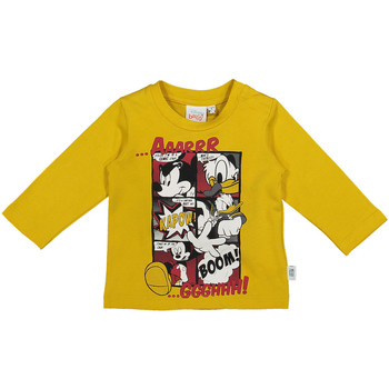Oblečenie Deti Tričká s dlhým rukávom Melby 20C2040DN žltá