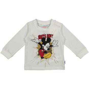 Oblečenie Deti Tričká s dlhým rukávom Melby 20C2050DN Biely