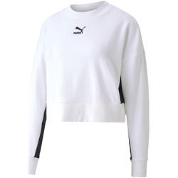 Oblečenie Ženy Mikiny Puma 597637 Biely