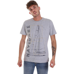 Oblečenie Muži Tričká s krátkym rukávom Navigare NV31109 Šedá