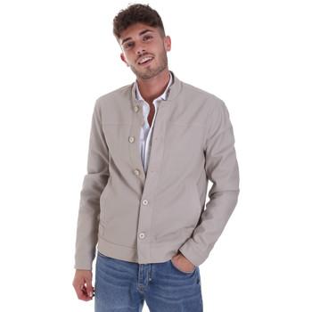Oblečenie Muži Bundy  Gaudi 011BU38005 Šedá