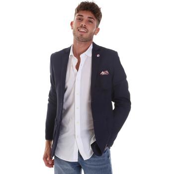 Oblečenie Muži Saká a blejzre Sseinse GAE606SS Modrá