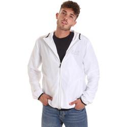 Oblečenie Muži Vetrovky a bundy Windstopper Ea7 Emporio Armani 8NPB04 PNN7Z Biely