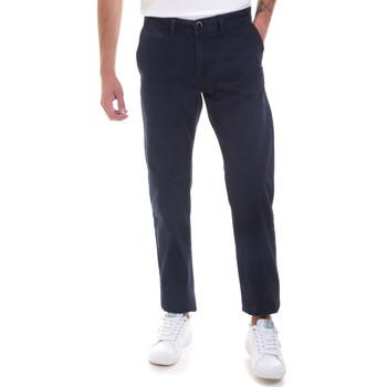 Oblečenie Muži Nohavice Chinos a Carrot Gaudi 821BU25007 Modrá