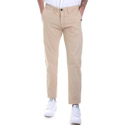 Oblečenie Muži Nohavice Chinos a Carrot Gaudi 821BU25007 Béžová