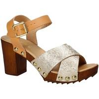 Topánky Ženy Sandále Keys 5864 žltá