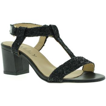 Topánky Ženy Sandále Mally 3895 čierna