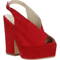 Topánky Ženy Sandále Grace Shoes ALBA 107 Červená