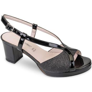 Topánky Ženy Sandále Valleverde 45373 čierna