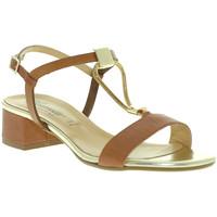 Topánky Ženy Sandále Susimoda 2793 Hnedá
