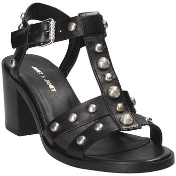 Topánky Ženy Sandále Janet&Janet 41409 čierna