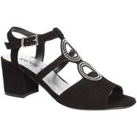 Topánky Ženy Sandále Keys 5713 čierna