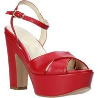 Topánky Ženy Sandále Esther Collezioni T260 CRIS Červená