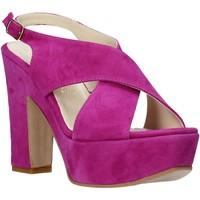 Topánky Ženy Sandále Esther Collezioni TQ 039 Ružová
