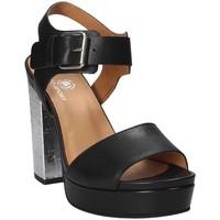 Topánky Ženy Sandále Janet Sport 41907 čierna