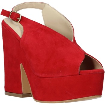 Topánky Ženy Sandále Esther Collezioni ALBA 107 Červená