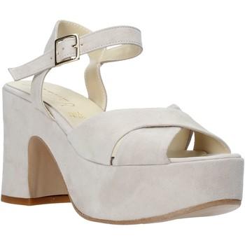 Topánky Ženy Sandále Esther Collezioni RM133 Šedá