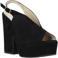 Topánky Ženy Sandále Esther Collezioni ALBA 107 čierna