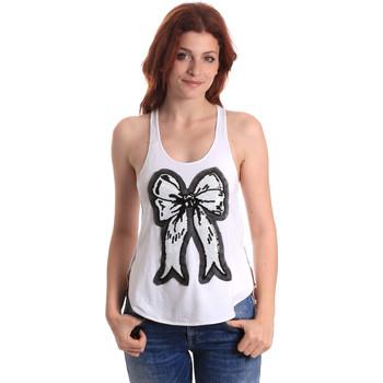 Oblečenie Ženy Tielka a tričká bez rukávov Fornarina BE17T517JG0709 Biely