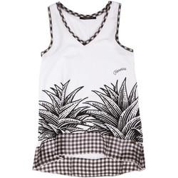 Oblečenie Ženy Tielka a tričká bez rukávov Fornarina BERT484JF7409 Biely