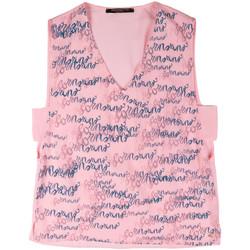 Oblečenie Ženy Tielka a tričká bez rukávov Fornarina BERT486C97366 Ružová
