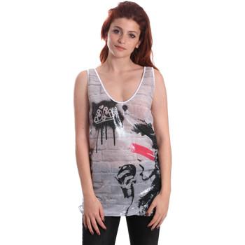 Oblečenie Ženy Tielka a tričká bez rukávov Fornarina SE175J67H27509 Biely