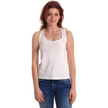 Oblečenie Ženy Tielka a tričká bez rukávov Fornarina SE175L04JG0709 Biely