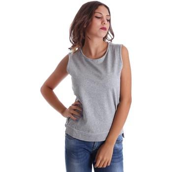 Oblečenie Ženy Tielka a tričká bez rukávov Fornarina SE17T524F42990 Šedá