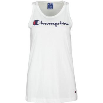 Oblečenie Ženy Tielka a tričká bez rukávov Champion 111791 Biely