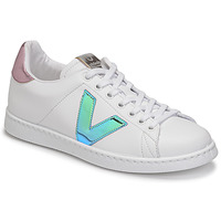 Topánky Ženy Nízke tenisky Victoria TENIS VEGANA VINI Biela / Modrá / Ružová