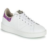 Topánky Ženy Nízke tenisky Victoria UTOPIA HOLOG Biela