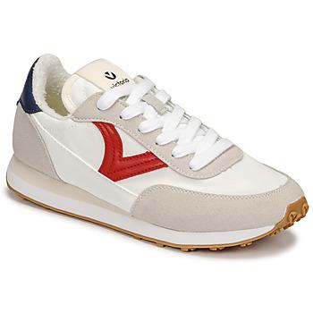 Topánky Ženy Nízke tenisky Victoria ASTRO NYLON Biela / Červená / Modrá