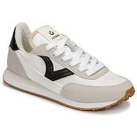 Topánky Ženy Nízke tenisky Victoria ASTRO NYLON Biela / Čierna