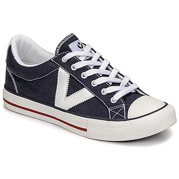 Topánky Nízke tenisky Victoria TRIBU LONA CONTRASTE Modrá