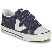 Topánky Chlapci Nízke tenisky Victoria TRIBU TIRAS LONA Modrá