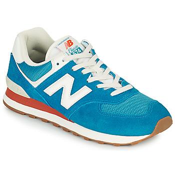 Topánky Muži Nízke tenisky New Balance 574 Modrá / Biela