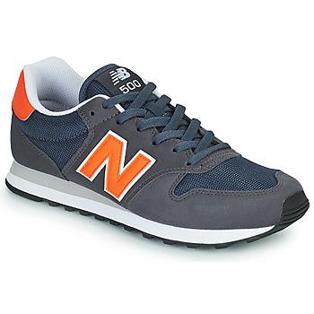 Topánky Muži Nízke tenisky New Balance 500 Modrá / Oranžová