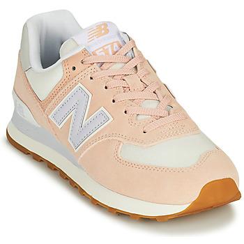 Topánky Ženy Nízke tenisky New Balance 574 Ružová / Modrá