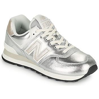 Topánky Ženy Nízke tenisky New Balance 574 Strieborná