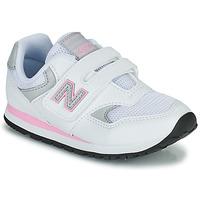 Topánky Dievčatá Nízke tenisky New Balance 393 Biela / Ružová