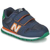 Topánky Chlapci Nízke tenisky New Balance 500 Modrá / Oranžová